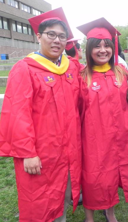 We graduated!