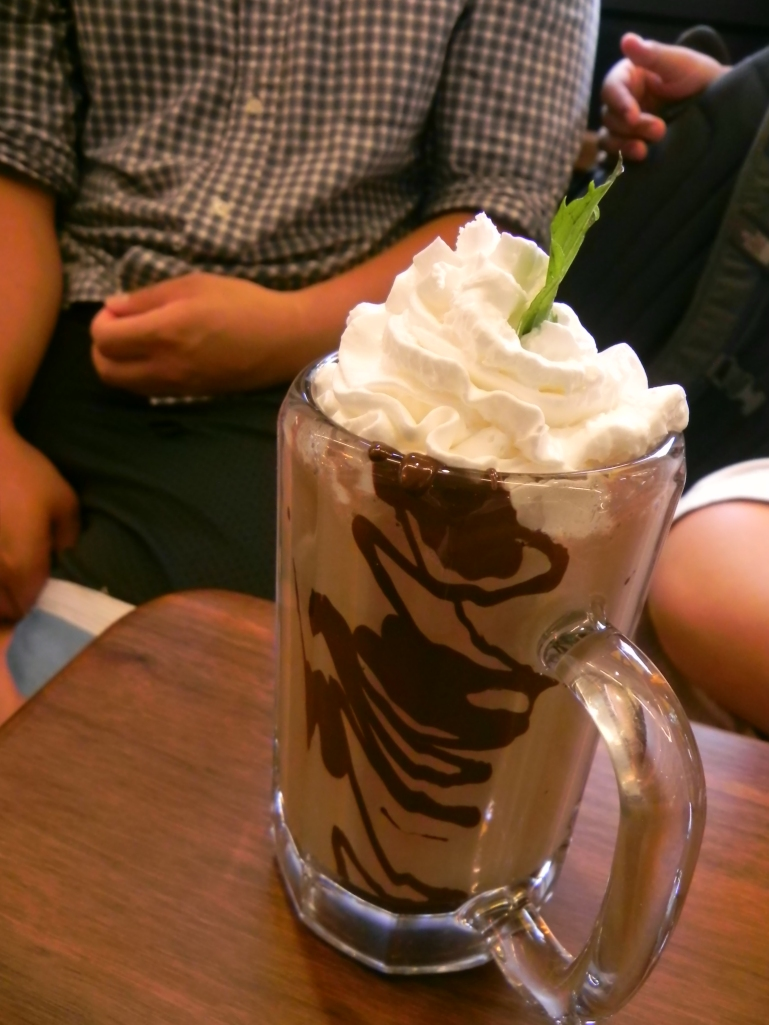 Bailey's chocolate shake $8.00